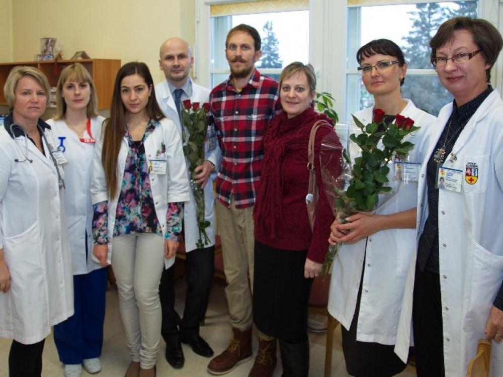 Kauno klinikose – dar viena sėkminga inksto transplantacija iš gyvo donoro