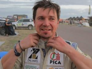 Šiemet Dakare Antanui Juknevičiui vaistinėlės neprireikė