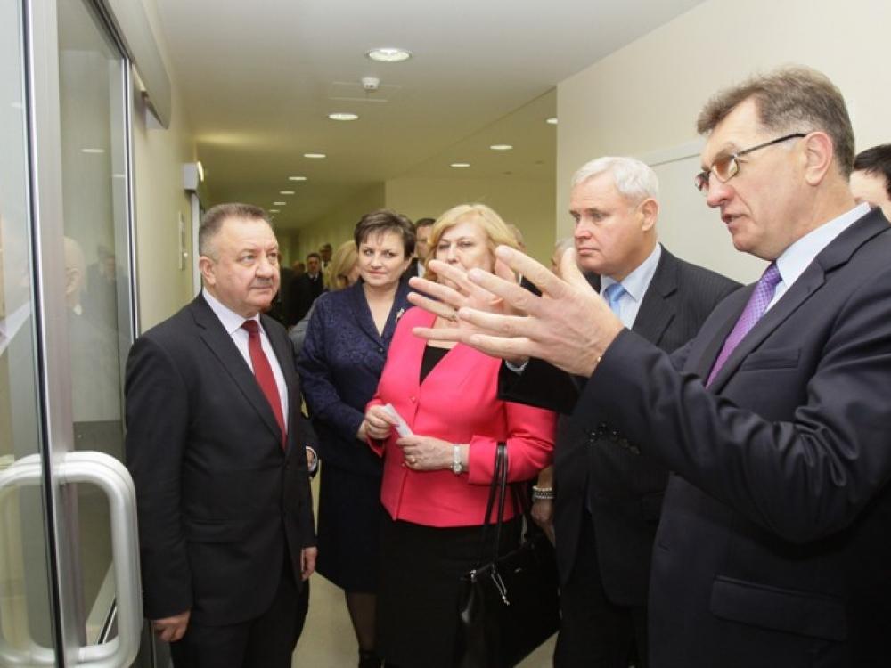 Vakarų Lietuvos gyventojams – dar geresnė medicinos paslaugų kokybė
