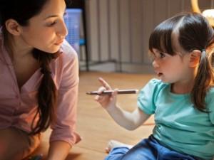 Su vaikais kalbame apie meilę