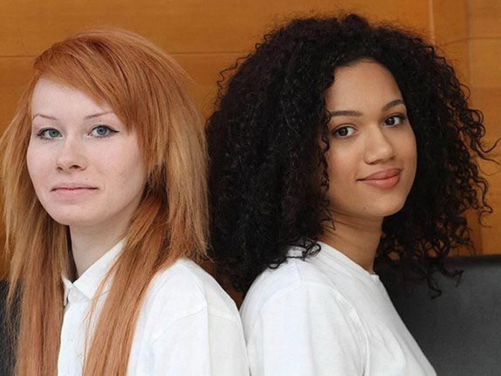 Dvynės, kurių odos spalva skiriasi