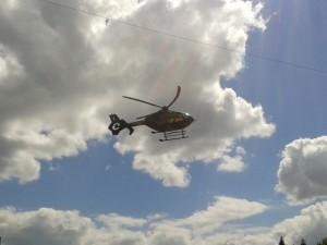 Sraigtasparnis vėl skraidino donorinius organus
