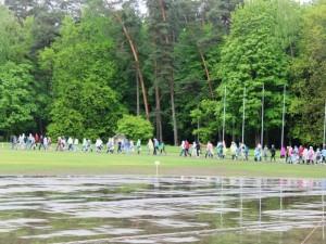 Į sostinę grįžta šiaurietiškojo ėjimo maratonas