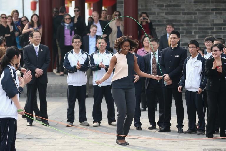 Michelle Obama – įtakingiausia sveikos gyvensenos šalininkė