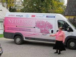 Mielos Vilniaus rajono moterys, kviečiame nedelsti ir pasitikrinti krūtis!