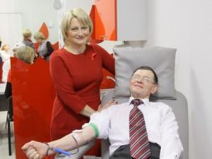 Stebėtojų taryba patvirtino Nacionalinio kraujo centro 2014 metų veiklos ataskaitą