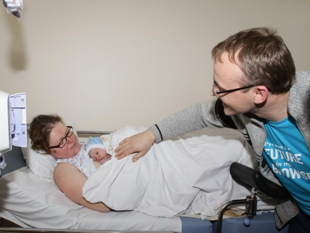 Vilniaus gimdymo namuose – ir šeimoms reikalinga psichologinė pagalba