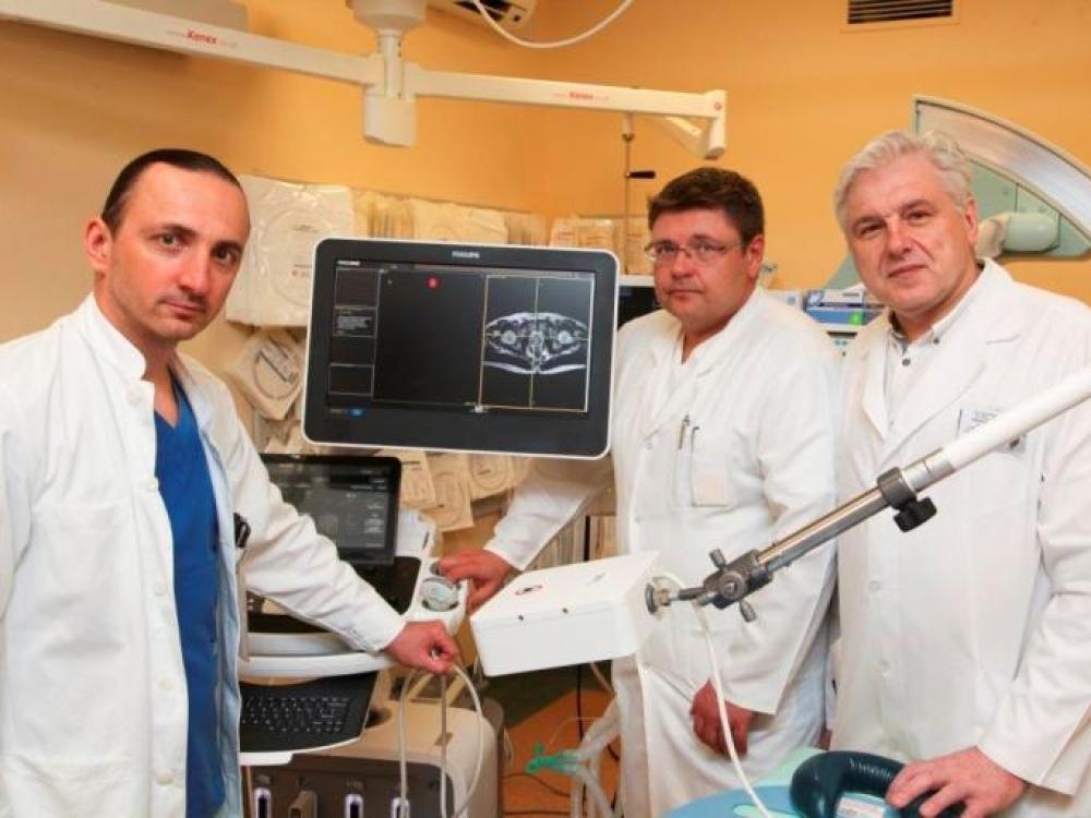 Prostatos vėžys sunaikintas šalčiu