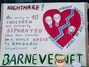 """""""Barnevernet"""" sulaukia vis daugiau kritikos"""
