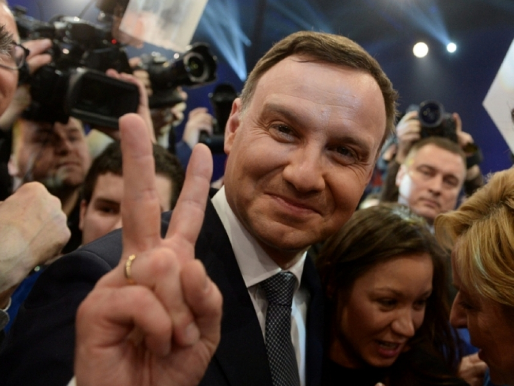 Andrzejus Duda: politinis žemės drebėjimas Lenkijoje
