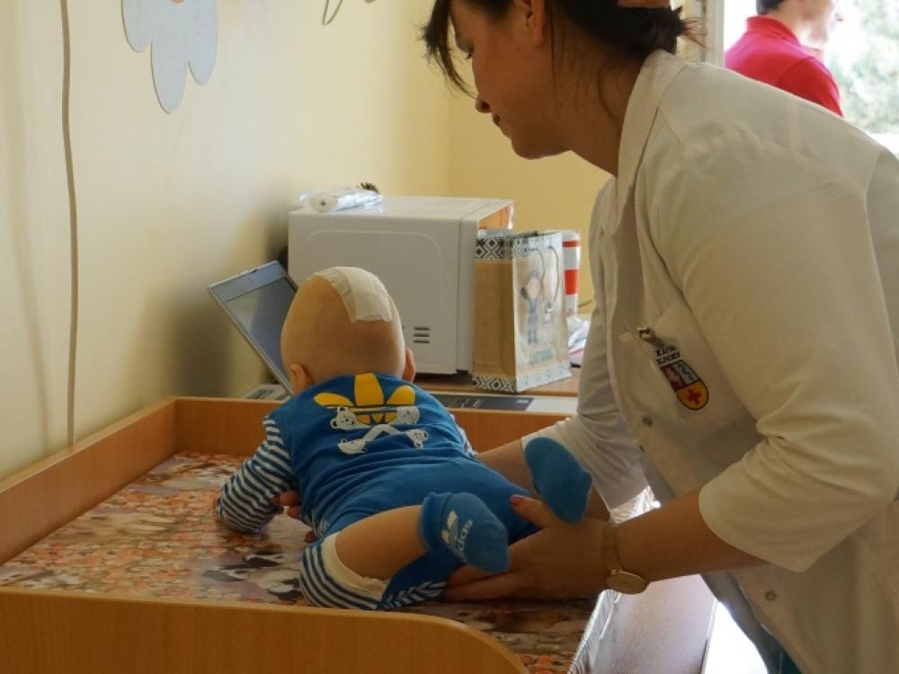 Ukrainiečiai vaiko gyvybę patikėjo Kauno medikams