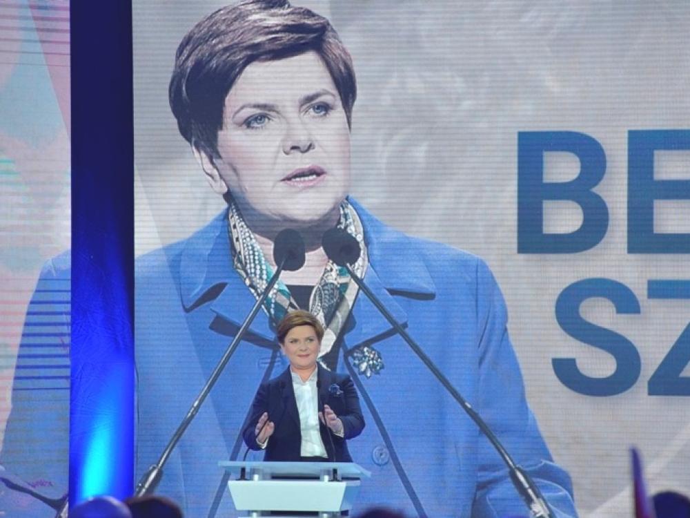 "Beata Szydlo: ""Nebūsiu marionetė"""