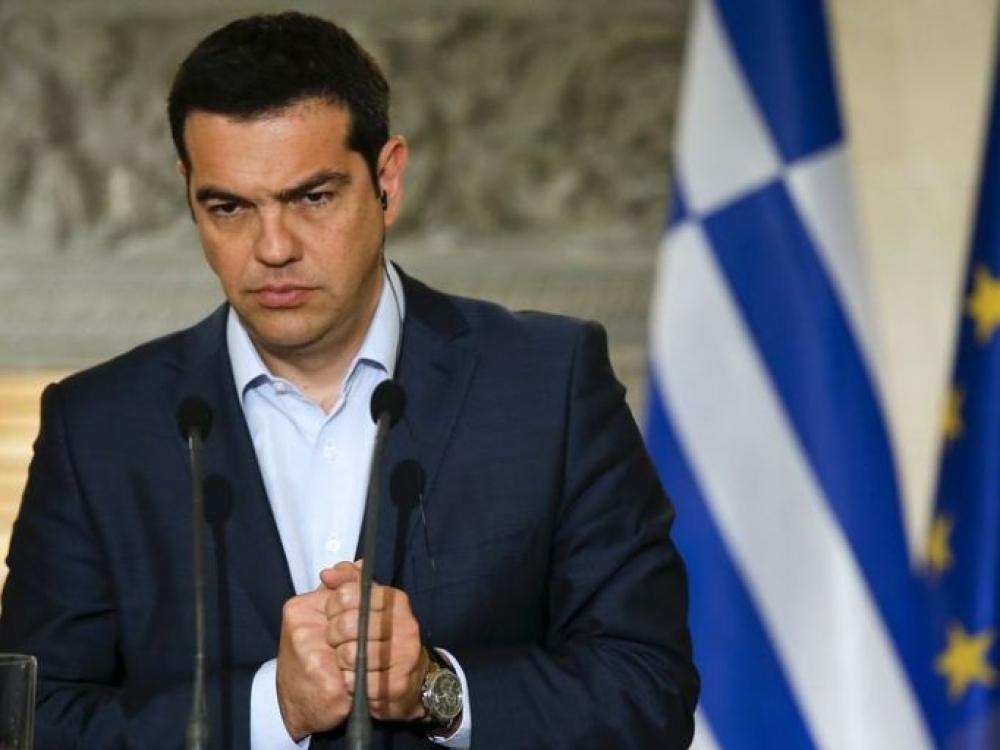 """Aleksis Tsipras: """"Pasirašiau, bet netikiu..."""""""