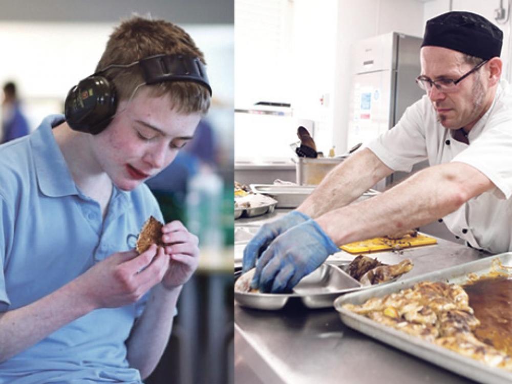 Išradingas virėjas pakeitė autizmo sutrikimą turinčių vaikų mitybą