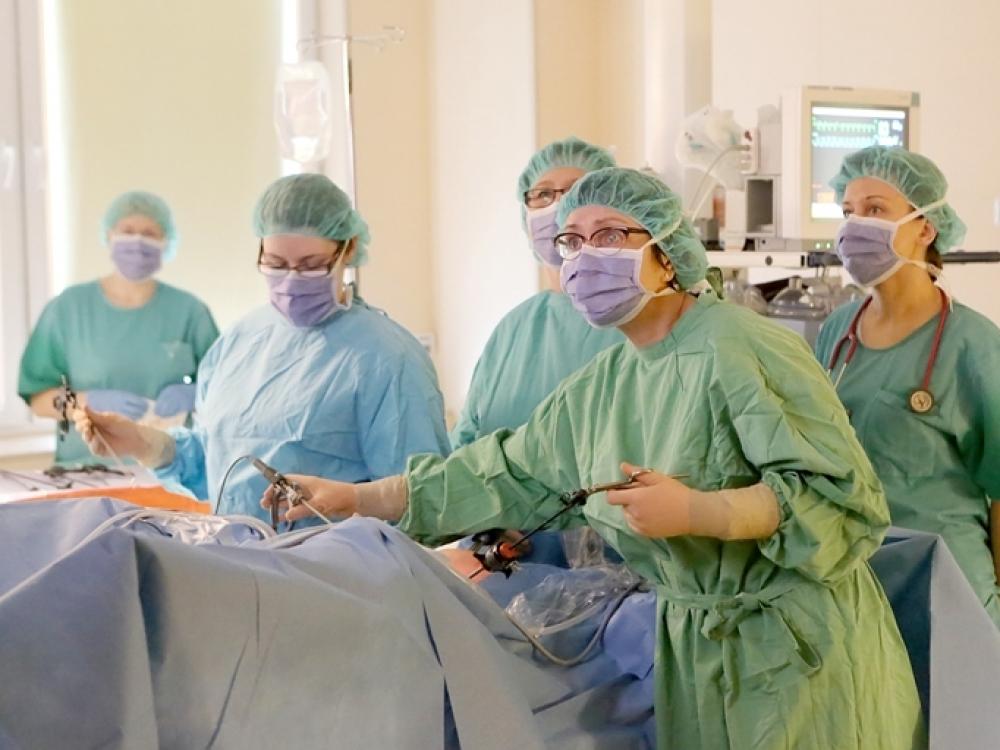 Klaipėdos jūrininkų ligoninės ginekologų darbai nenusileidžia garsių klinikų laimėjimams