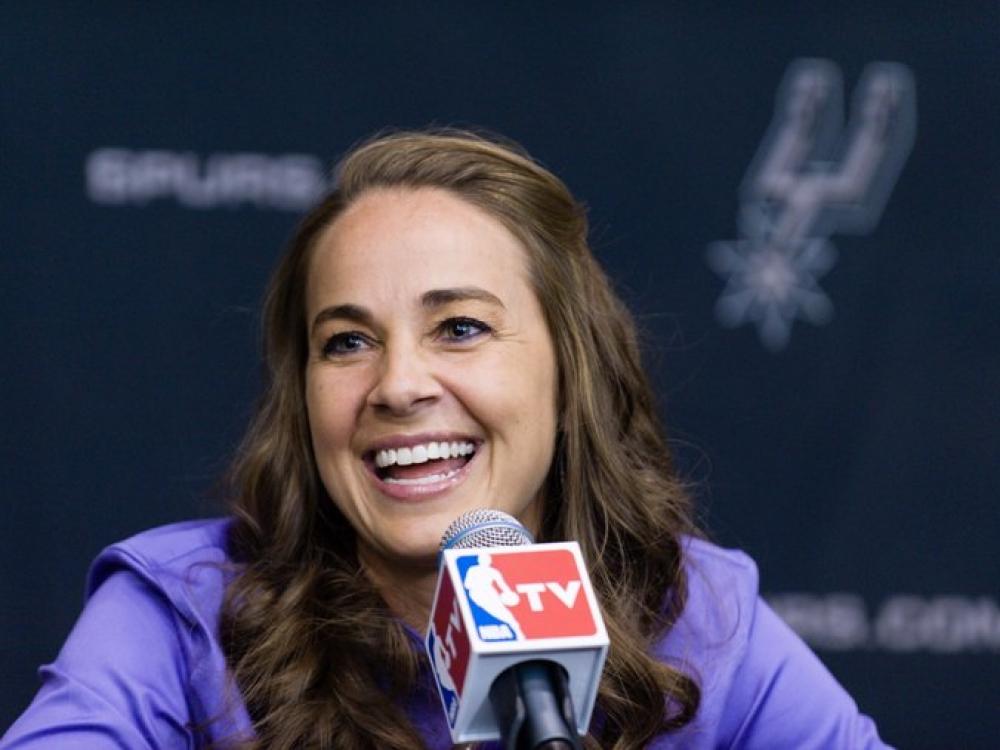 Becky Hammon: trenerė, laužanti NBA barjerus