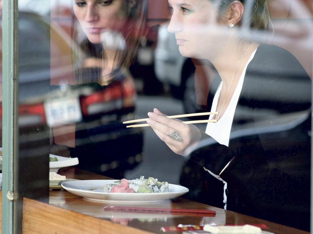 Galvosūkis dėl maisto kavinėse