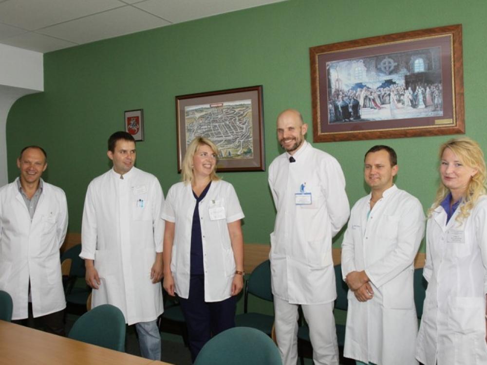 Klaipėdos universitetinėje ligoninėje be mokslo medicina neįsivaizduojama