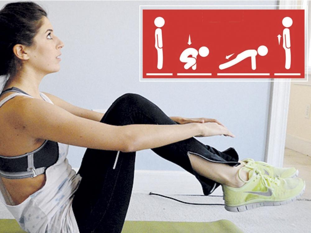 Japoniška aerobika – tik keturios intensyvios minutės