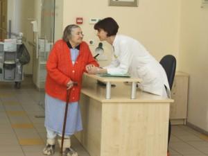 Vilkpėdės ligoninėje – pastangos dėl orios senatvės