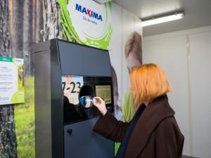 """Taromatais """"Maxima"""" planuoja surinkti apie 80 proc. visų vienkartinių pakuočių"""