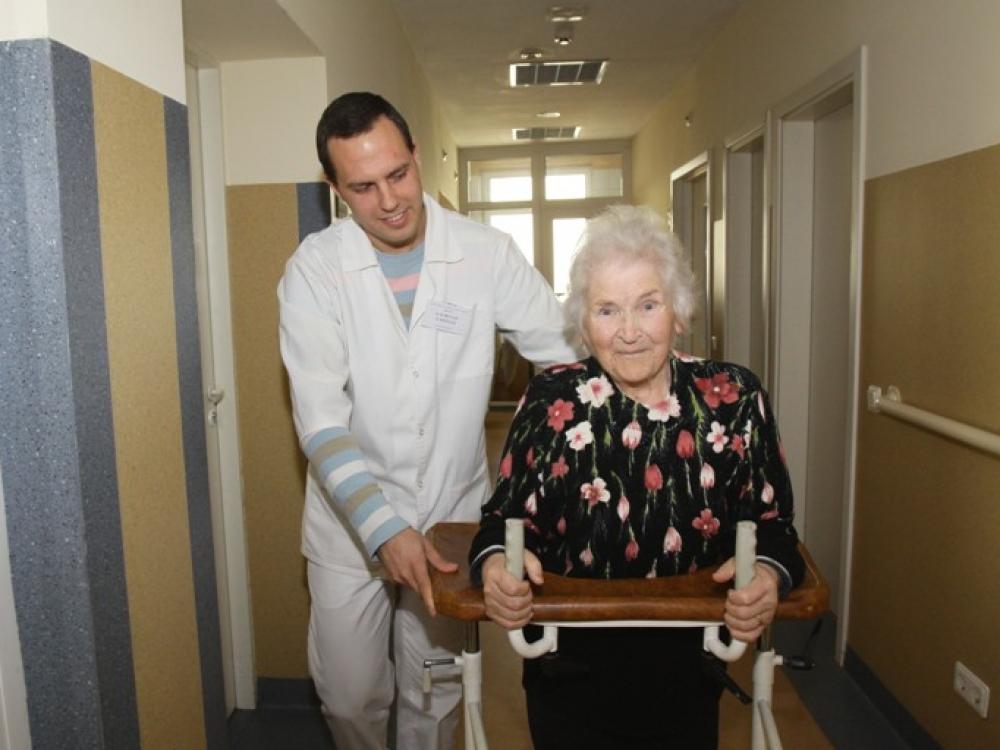 Klaipėdos medicininės slaugos ligoninė: slauga ligoniui, paguoda artimam