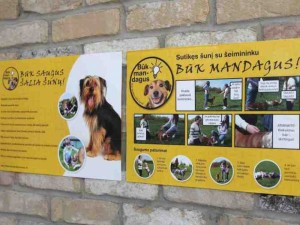 Mokykloms – ugdymo priemonės apie saugų elgesį su šunimis