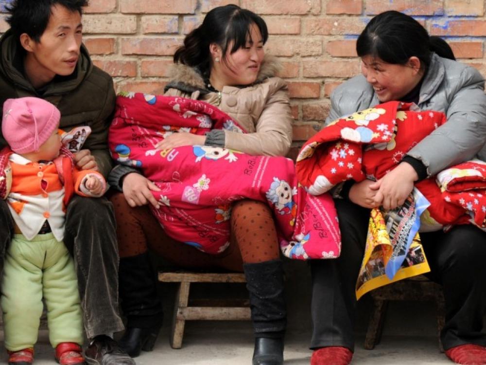 Kinija dėl vieno vaiko politikos... paseno
