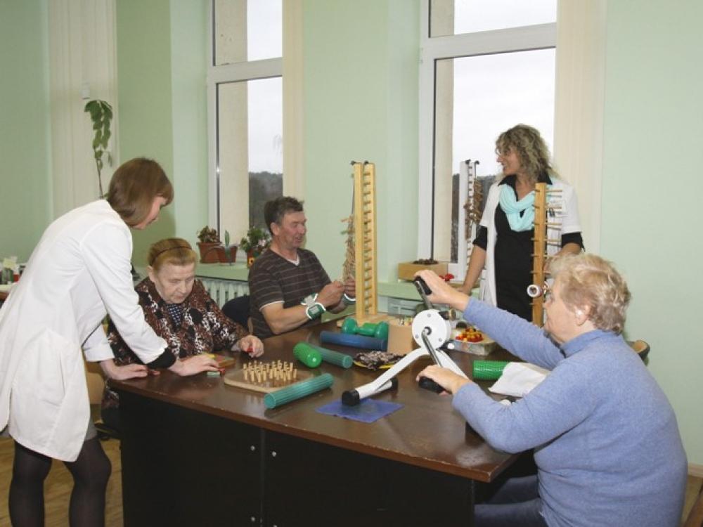 Abromiškių reabilitacijos ligoninės specialistai žino, ko reikia pacientams