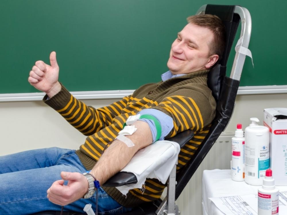 Dzūkai ragina jungtis prie neatlygintinų kraujo donorų