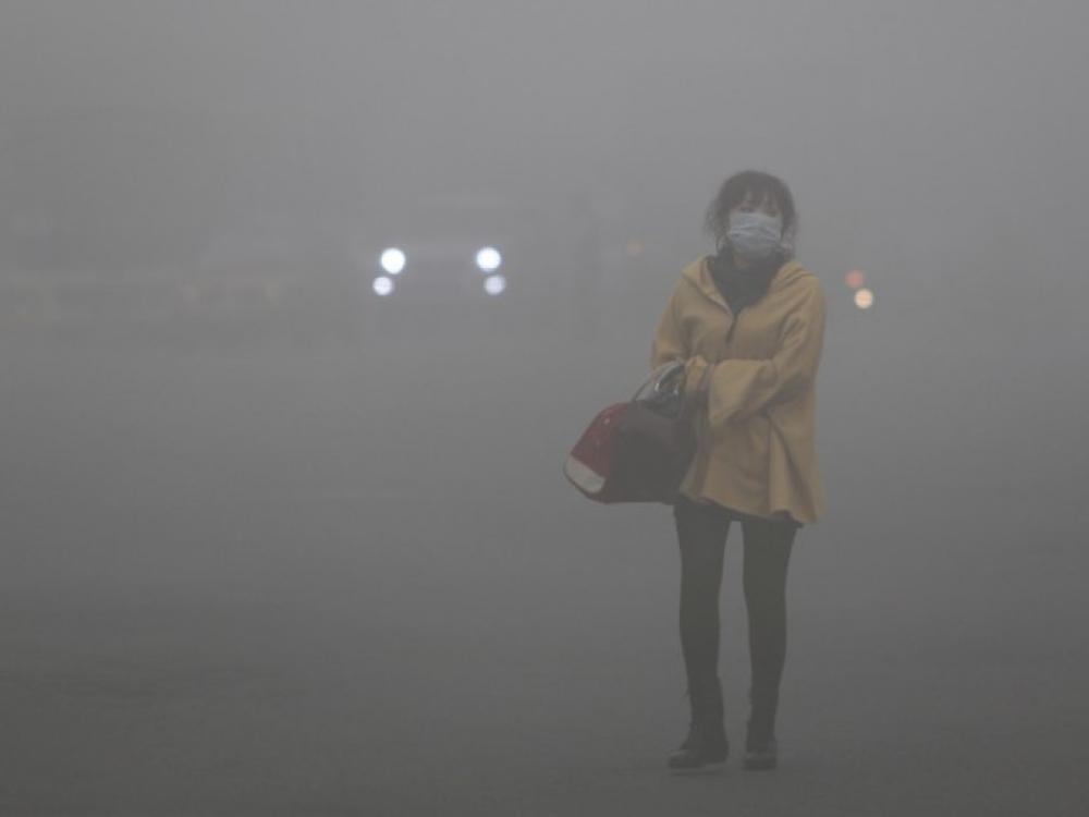 Pekine pirmą kartą skelbiamas raudonas pavojaus lygis