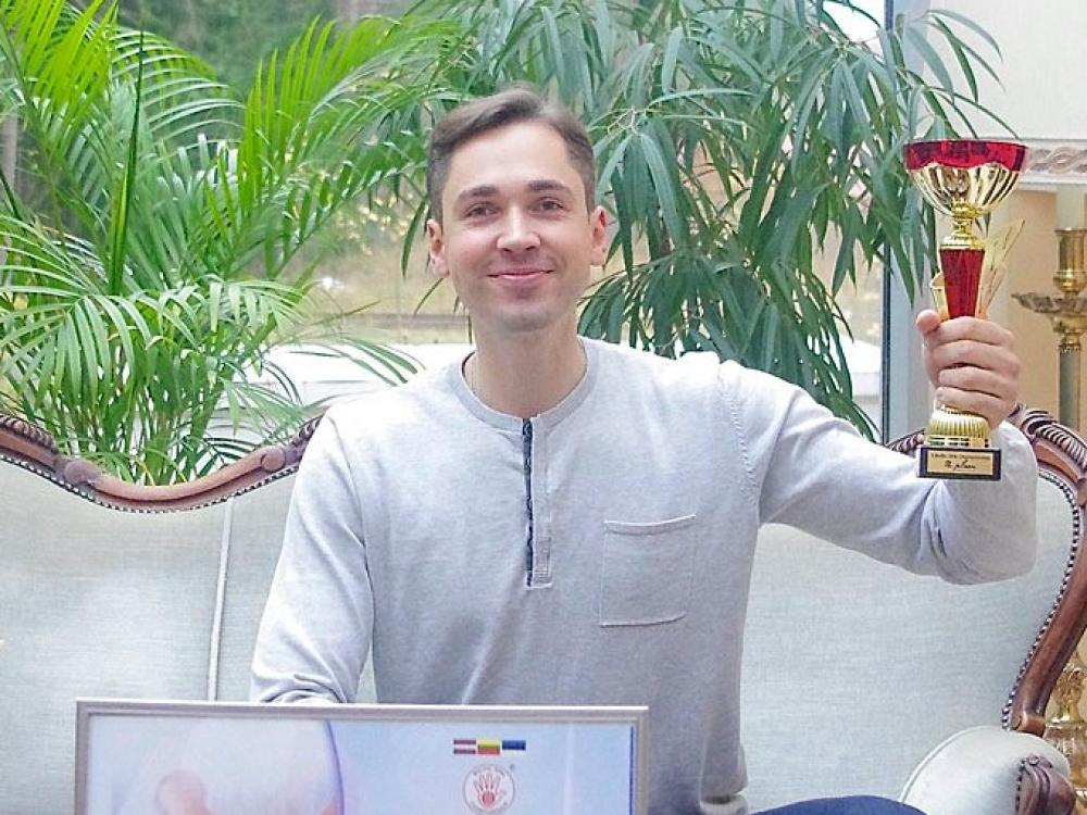 Pasaulio masažo čempionate pirmoji vieta – Birštono atstovui