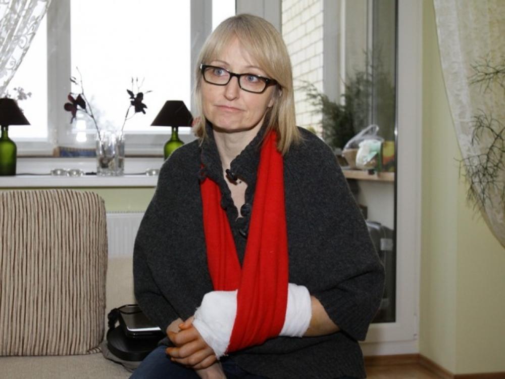 """Ortopedas traumatologas pataria: kriskite susigūžę """"ežiuku"""""""