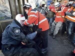 Ukrainos medikai lyg karo zonoje