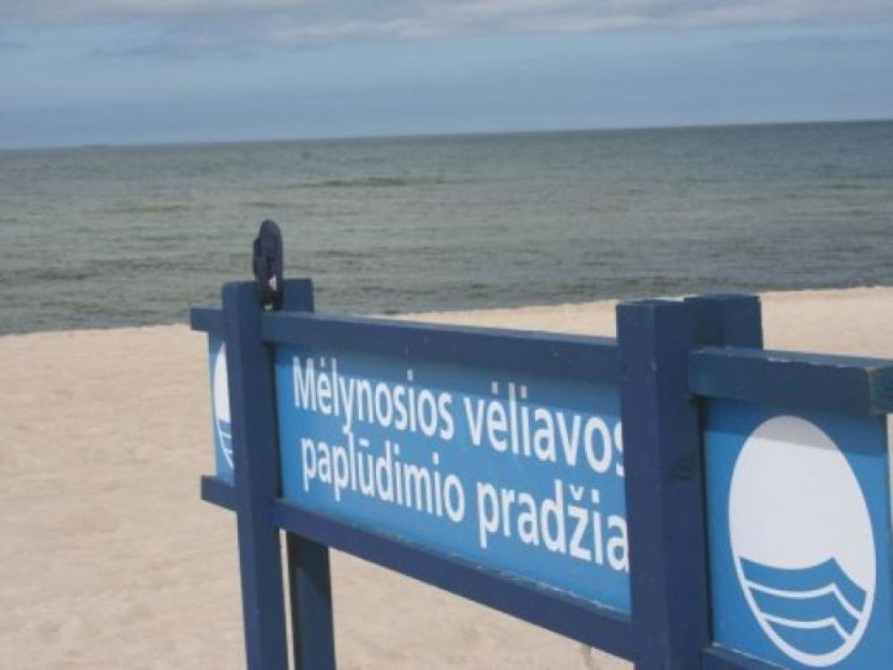 Mėlynąją vėliavą siūloma suteikti visiems trims ją turėjusiems Lietuvos paplūdimiams