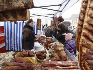 Kaziuko mugėje vilios senosios receptūros gaminiais