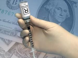 JAV insulino kainos išaugo trigubai
