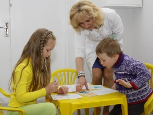 Kauno Centro poliklinikoje vaikų sveikatai – ypatingas dėmesys