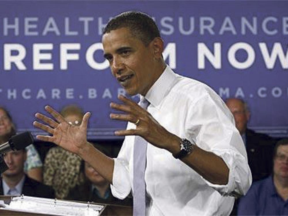"""""""Obamacare"""": prezidentas džiūgauja, tauta nepritaria"""