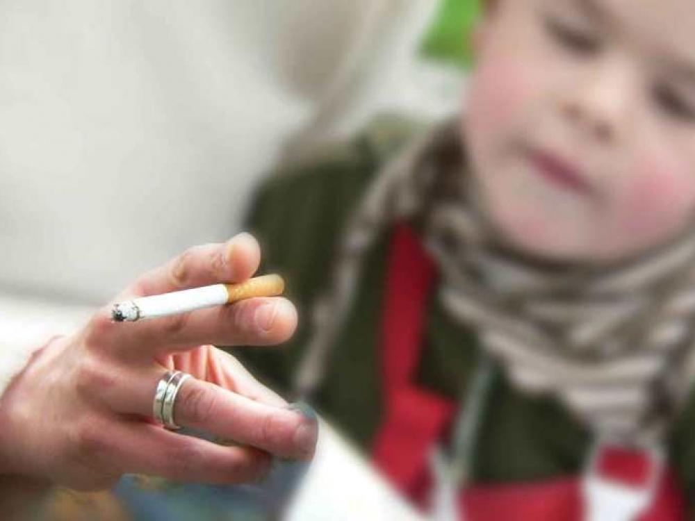 Vaikų kasdienybė - pasyvus rūkymas