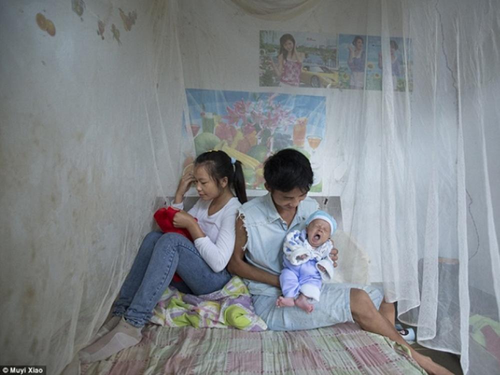 Kinijos provincijoje tuokiasi vis daugiau paauglių
