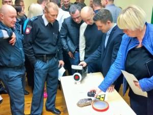 Alytuje vyko policijos pareigūnų radiacinės saugos mokymai