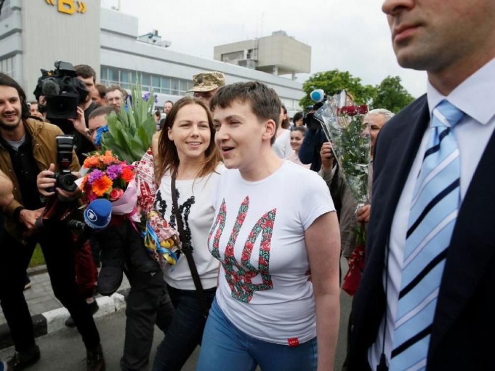 """Nadia Savčenko: """"Jei norite, kad būčiau prezidentė, aš tai padarysiu"""""""