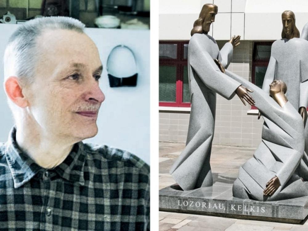 Lozoriaus viltis prisikelti primena ir skulptoriaus gyvenimą