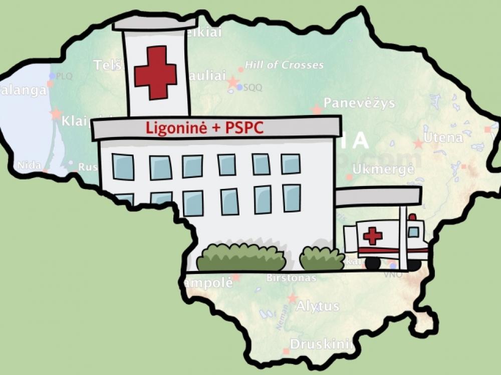Ligoninių ir poliklinikų jungtuvės: būti ar nebūti?