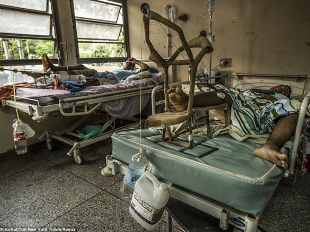 Venesuelos ligoninės: net priešui nelinkėtum ten atsidurti