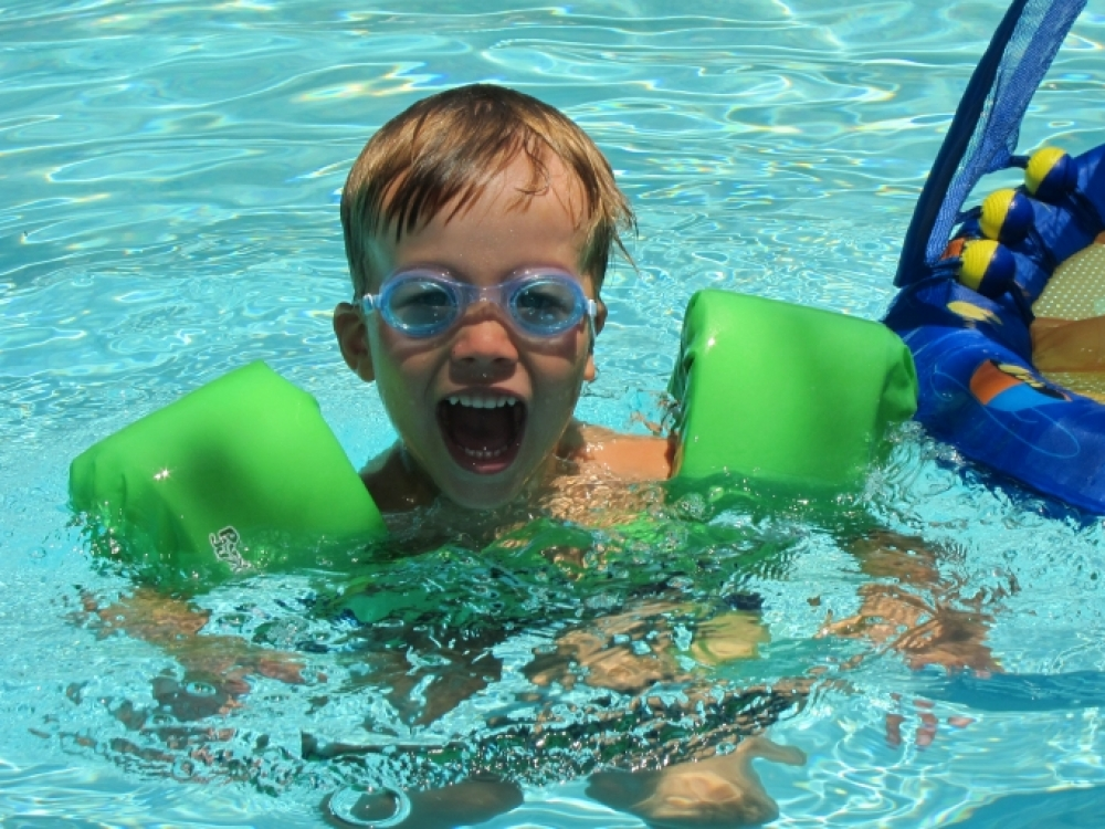 Kaip neatimti iš vaiko noro pažinti vandenį