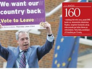 """""""Brexit"""": pažadų jūroje nuskendusi sveikatos apsauga"""