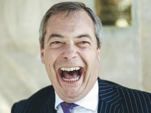 """Nigel Farage: """"Aš vos nenumiriau tris kartus"""""""