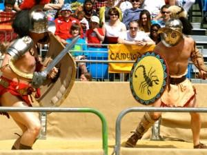 Dopingu šeriami sportininkai artėja prie gladiatorių kautynių